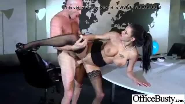 Big melon tits girl (peta jensen) hard banged in office video-26
